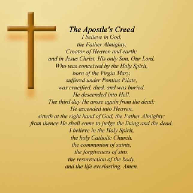 St. Paul's Evangelical Lutheran Church - Apostle's Creed